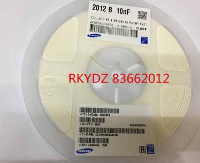 Tụ Ceramic   Tụ Chip 0805 103K / 50V 10nF gốc chính hãng