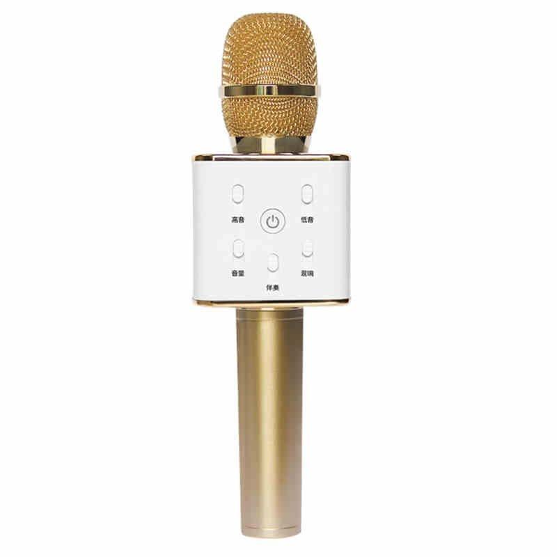 Micro  Rorsche đồ. Q7 K trên điện thoại KTV micro hát đi hát đi. Micro không dây Bluetooth hỗ trợ d