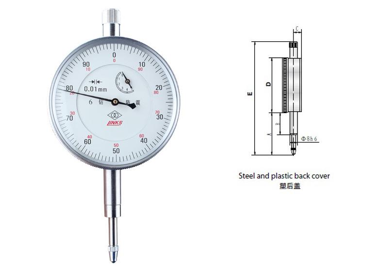 Ha lượng đáng tin cậy khoan cơ khí chỉ số quay số chống sốc hướng dẫn sheet 6 công cụ đo 0-10 Vũ Hán