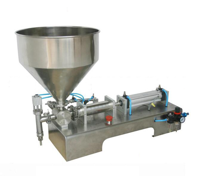 Máy móc    Supply GJS-60 foot cream liquid filling machine, lubricating oil filling machine, fillin