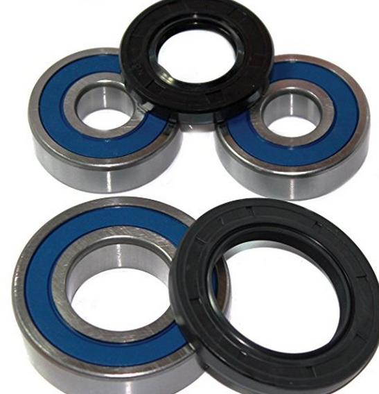 Caltric Vòng bi lăn bánh sau và vòng bi phù hợp với YAMAHA FZ6R FZ600R FZ-600R 2009-2014