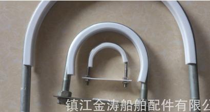 Ống kẹp  Các nhà sản xuất tetrafluoroethane pad thép không gỉ U-tube thẻ kẹp nhựa thép U-tube thẻ U