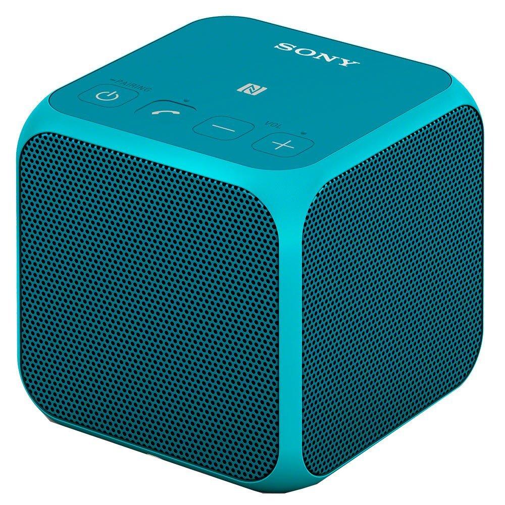 Sony srs-x11 / lc CN Music khối lập phương Portable loa không dây màu xanh.