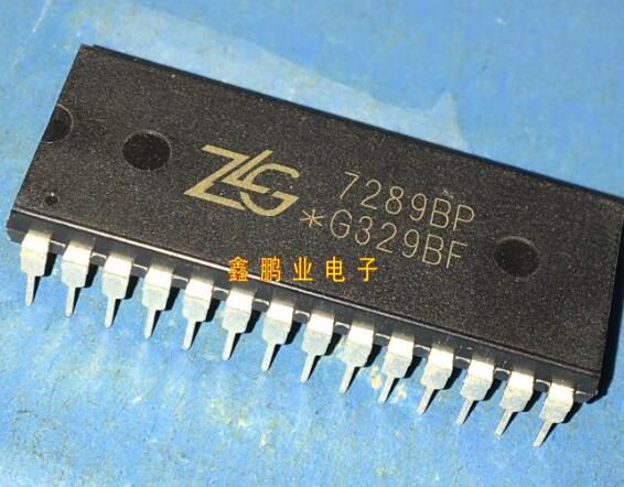 IC tích hợp  New gốc vi mạch - Chip lái xe ZLG7289BP Zhou, người DIP28 đảm bảo chất lượng