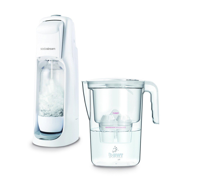 SodaStream phun magiê gasatore BWT chai nước lọc, nhựa, White, 20 × 20 × 40 cm