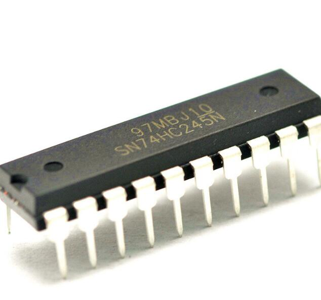 IC tích hợp vi mạch vi mạch IC logic với tám tri-state xe buýt thu phát 74HC245 DIP-20 dòng