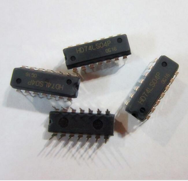 IC tích hợp  IC vi mạch vi mạch -HD74LS04P SN74LS04N