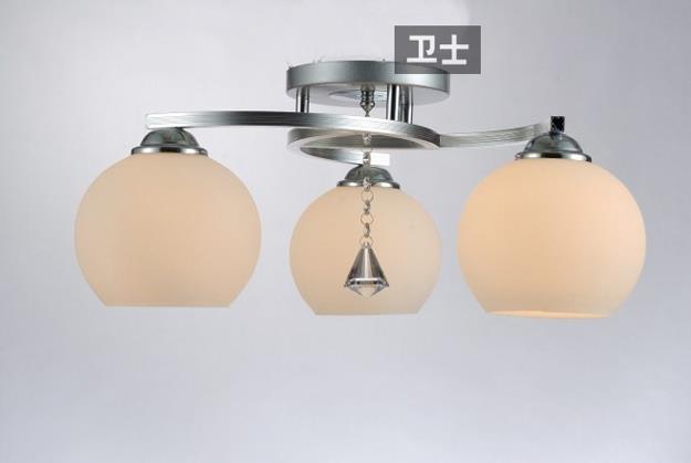- đơn giản là hiện đại LED đèn chùm đèn phòng khách phòng ngủ ấm áp thổi đèn hướng dẫn nghiên cứu că