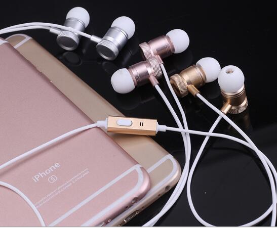 Chỗ mới cao cấp kim loại tai nghe stereo loa siêu trầm có thể gọi với Mark Andrews của Apple điện th