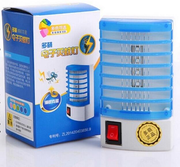 Meng nhà máy đèn LED nhiều trực tiếp 4 thế hệ diệt côn trùng điện tử điện đèn muỗi bẫy muỗi gửi ghi