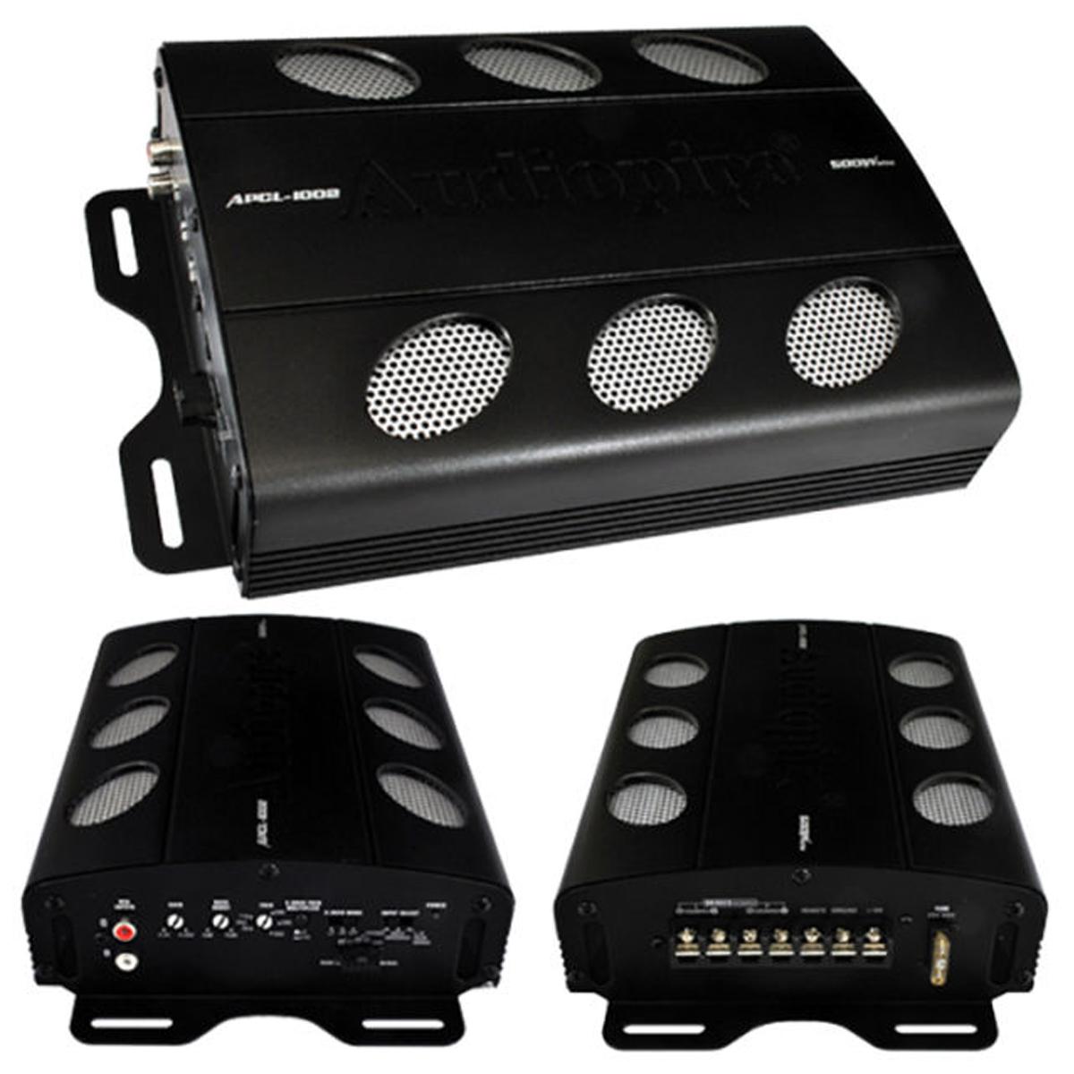 Amply MOSFET 2 kênh class A/B 500W AudioPipe APCL1002