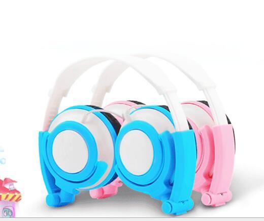 Tai nghe có dây  DAIRLE Trẻ em điện thoại tai nghe tai nghe tai nghe có dây học máy tính mặc nghe đầ