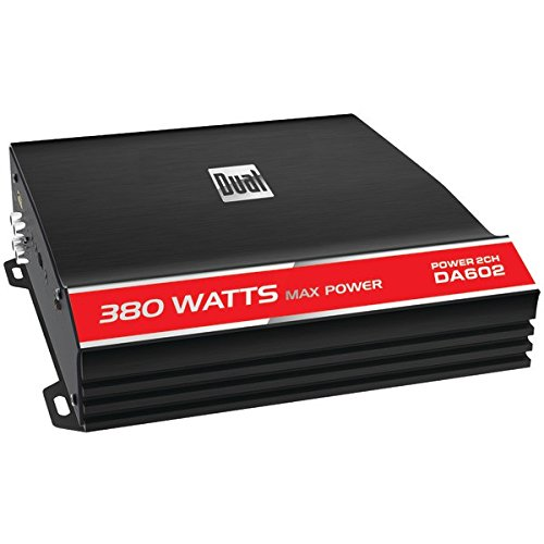 Amply 2 kênh class A/B 380W Dual DA602
