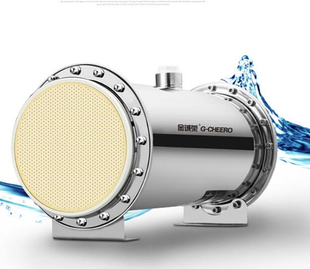 Bộ lọc nước  Kim Chen Rong lọc nước siêu lọc nhà cả nhà dòng chảy cao bằng thép không gỉ lọc nước t
