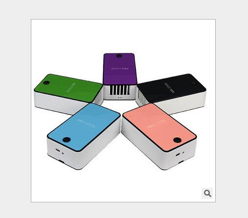 Di động cầm tay quạt máy lạnh mini USB sạc thế hệ thứ năm cầm tay lá quạt quạt bán buôn