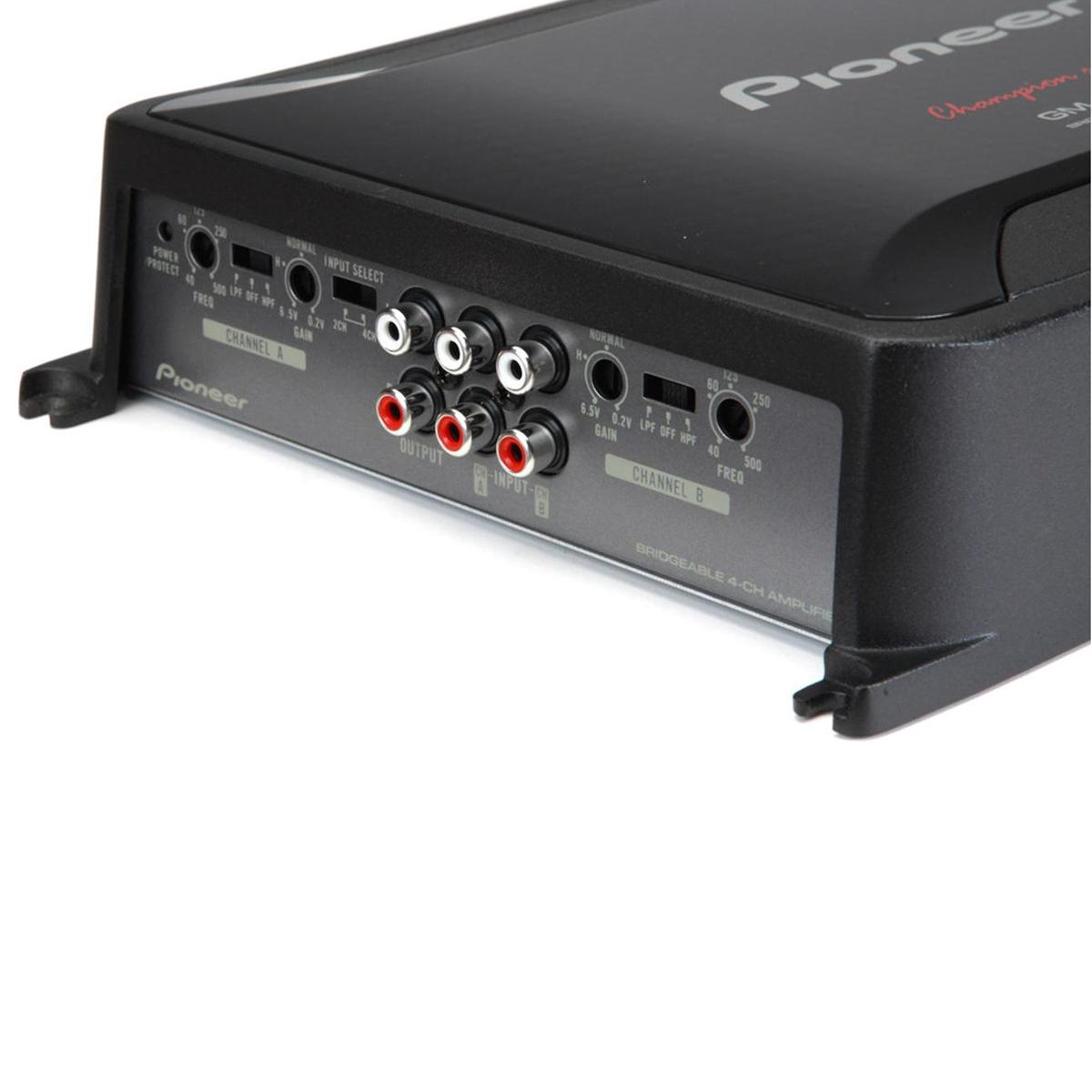 Amply kiểu cầu nối 4 kênh class FD Pioneer GM-D8604