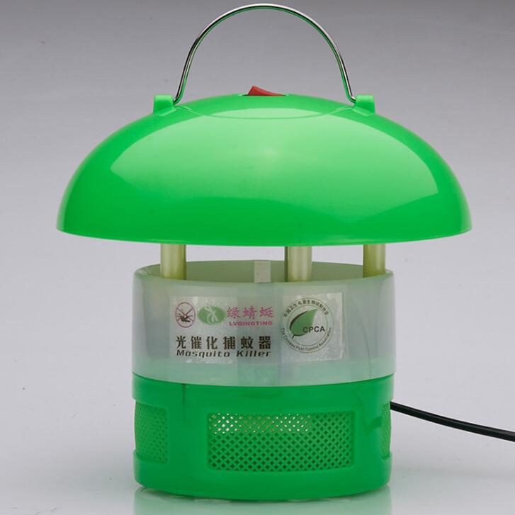 Đèn giấy phép Xanh Dragonfly LED quang xúc tác muỗi đèn muỗi 6 đèn 12 Khuyến mãi đặc biệt