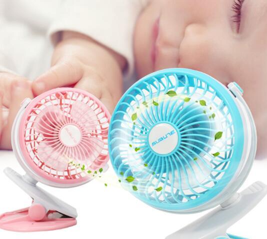 Quạt máy   Các sạc mới toa xe nhỏ fan hâm mộ kẹp quạt usb nhỏ bé cắt clip fan hâm mộ tốc độ máy tín