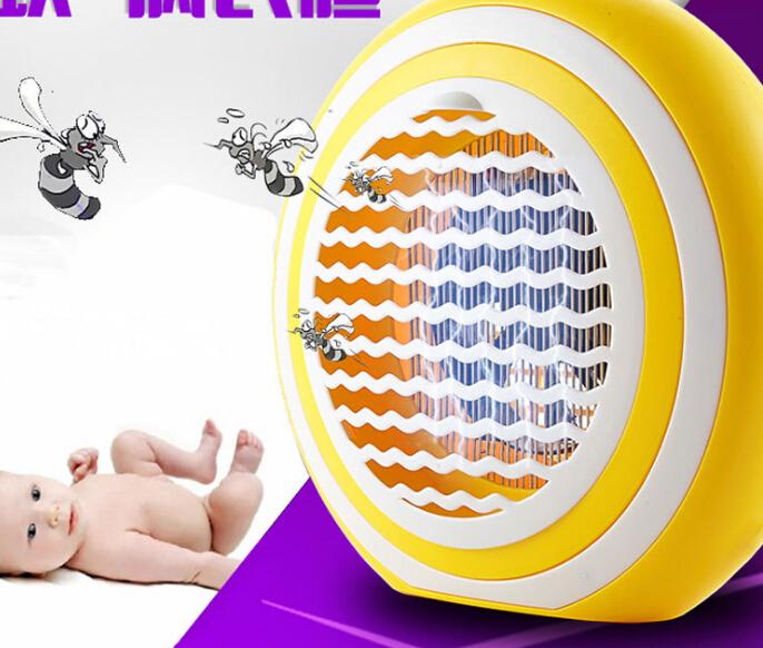 Các nhà sản xuất bé sốc mới mang thai diệt côn trùng quang xúc tác bẫy thuốc đuổi muỗi nhà LED đèn m