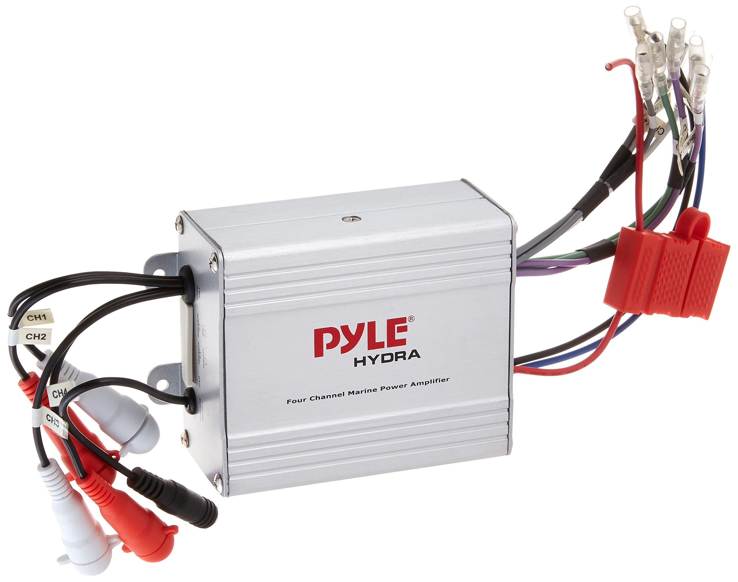 Amply khuếch đại công suất 4 kênh chống thấm nước Pyle PLMRMP4A