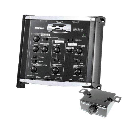 Pre-Amply có bộ cắt tần số bằng điện kèm remote điều khiển Subwoofer SoundStormLab SX310