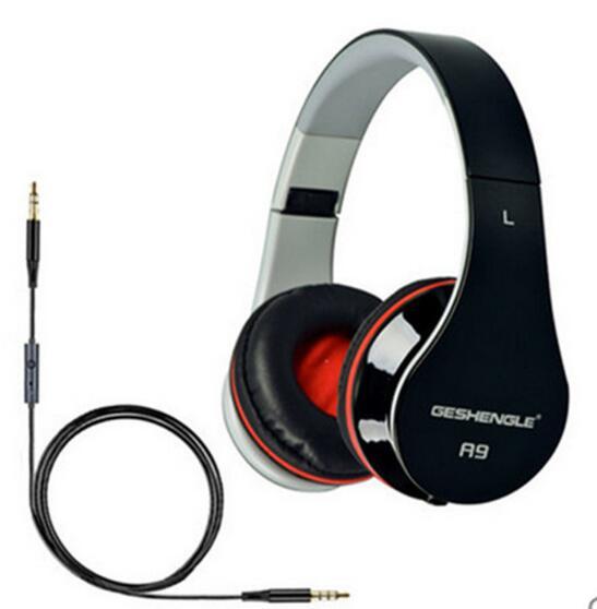 Bài hát hoặc Lok A9 gấp hoán đổi cho nhau cắm đường dây điện thoại có dây mô hình tai nghe chất lượn