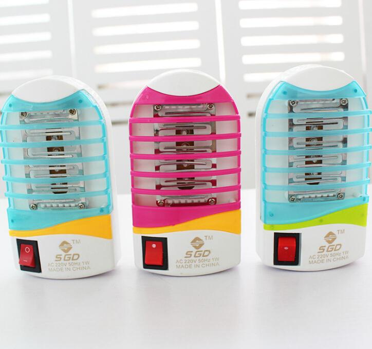 Đèn diệt muỗi   TR-C19 Đèn LED ánh sáng ban đêm cầm tay nhỏ đèn quang xúc tác muỗi thuốc đuổi muỗi