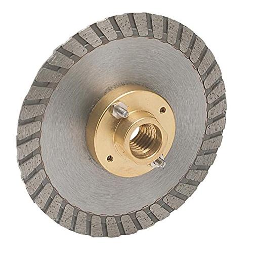 Công cụ kim cương công nghiệp  MK Diamond 159200 MK-925FC với 4 Lưỡi cưa cắt Xoay cho Ngói, Đá và B