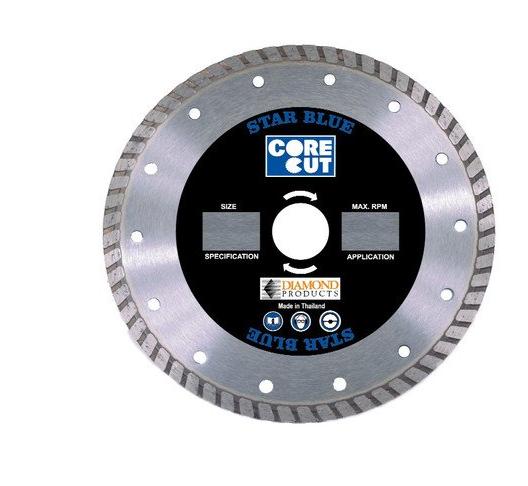 Công cụ kim cương công nghiệp  Sản phẩm Kim cương Core Cut 80004 8-Inch by 0.095 by 7/8-Inch Star B