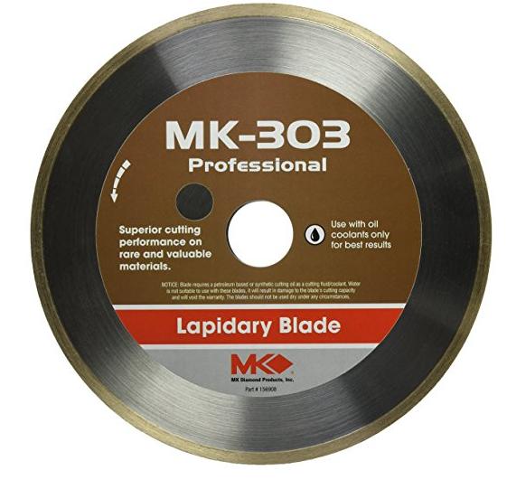 Công cụ kim cương công nghiệp  MK Diamond 169744 MK-303 Dao bằng kim cương với mặt liên tục, 7