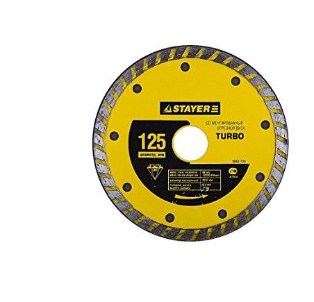 Công cụ kim cương công nghiệp  Stayer kim cương cắt miếng tuabin 3662-150