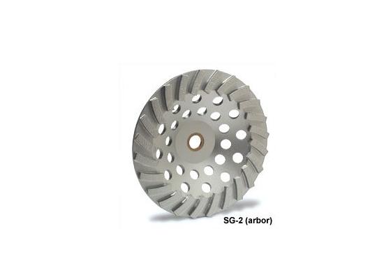 Công cụ kim cương công nghiệp  MK Diamond 158700 MK - 504SG - Bánh xe cỡ nhỏ Turbo 2 lớp, 4 1/2 X 5