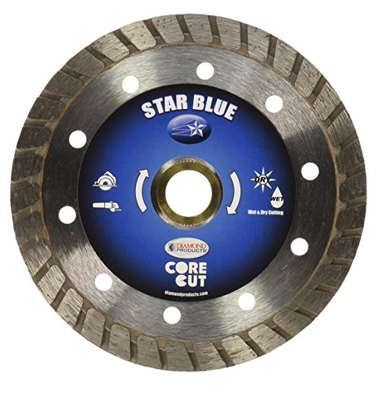 Công cụ kim cương công nghiệp  Sản phẩm Kim cương Core Cut 80002 5-Inch bởi 0.080 by 7/8-Inch Star