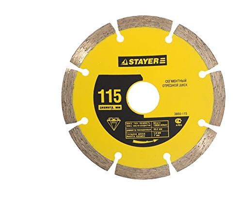 Công cụ kim cương công nghiệp  Stayer tấm cắt kim cương tấm khô 3660-115