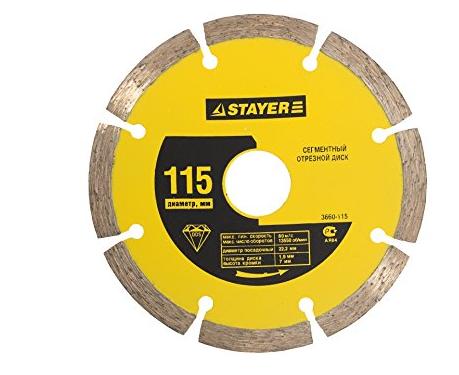 Công cụ kim cương công nghiệp  Stayer tấm cắt kim cương tấm khô 3660-230