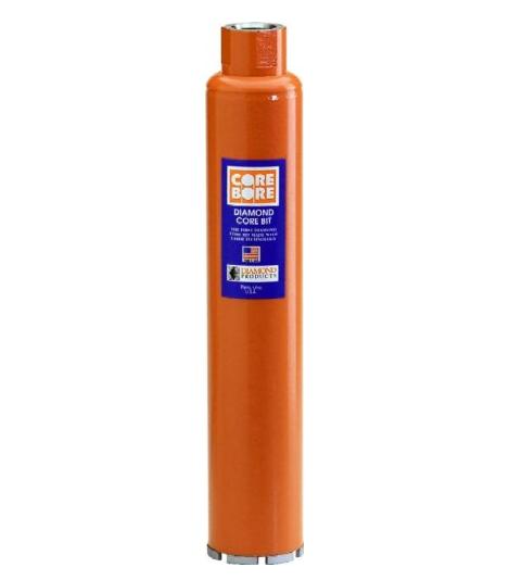 Công cụ kim cương công nghiệp  Sản phẩm kim cương Core Bore 4959 2-1 / 4-inch Mực ngựa màu nâu cam