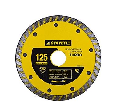 Công cụ kim cương công nghiệp  Stayer kim cương cắt miếng tuabin 3662-200
