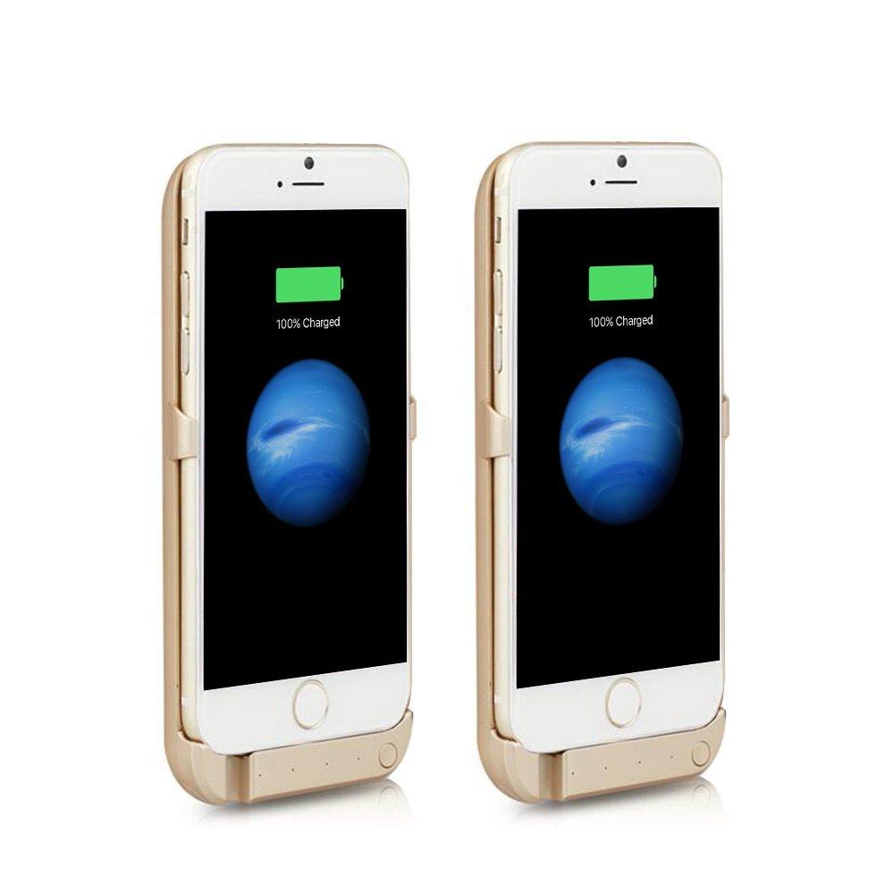 Perak điện pilidan 5800mah chuyển điện thiết bị giao diện USB Apple iPhone 6 pin Pin Apple sau lưng