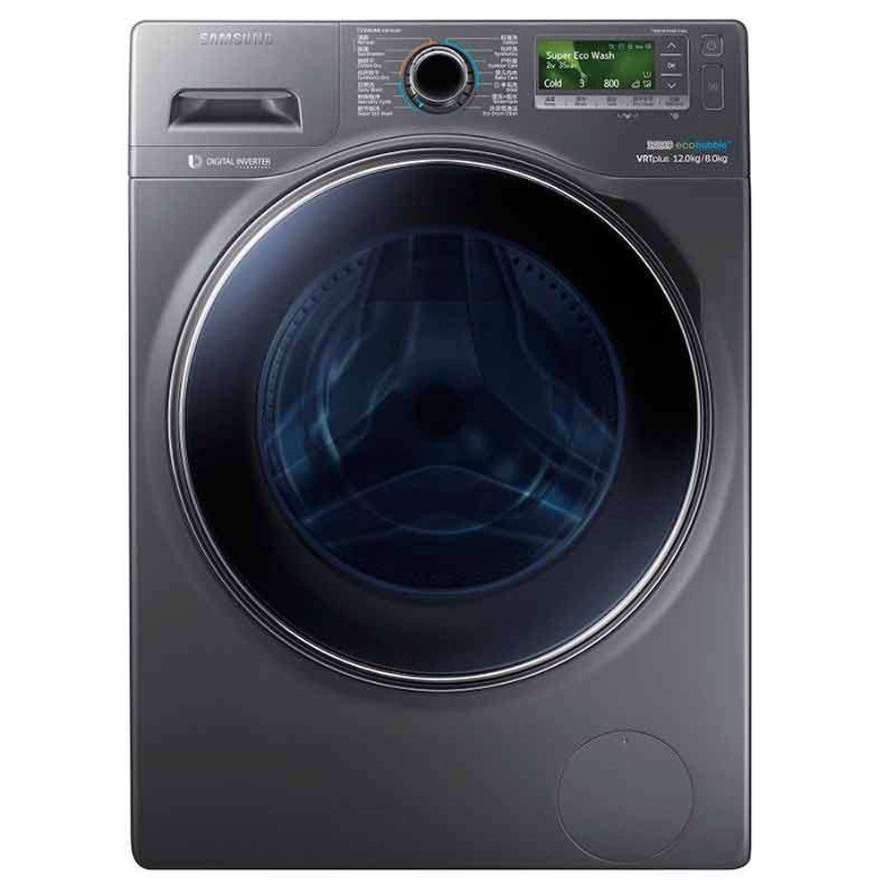 Máy giặt Samsung (SAMSUNG) WD12J8420GX/SC 12 kg thay đổi tần số, con lăn máy giặt ( Ash) thông minh
