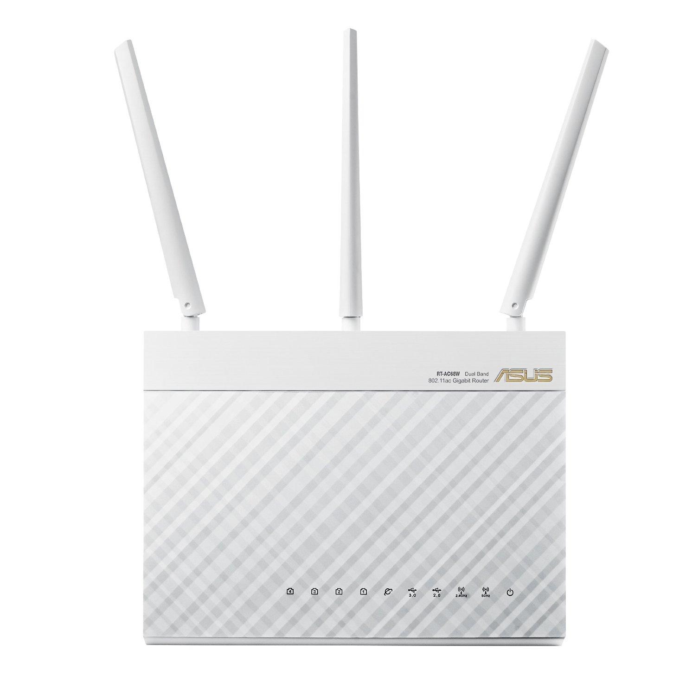 Modom ASUS ASUS WiFi router 1900 Mbps (RT-AC68W) tốc độ dữ liệu