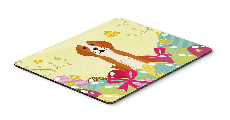 Thảm lót chuột Caroline trên bàn của phong cách nghệ thuật Mousepad,, 7.75x9.25 (bb6110mp versicolo