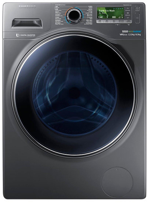 Máy giặt SAMSUNG Samsung WD12J8420GX/SC 12kg sấy khô một con lăn máy giặt ( Ash)