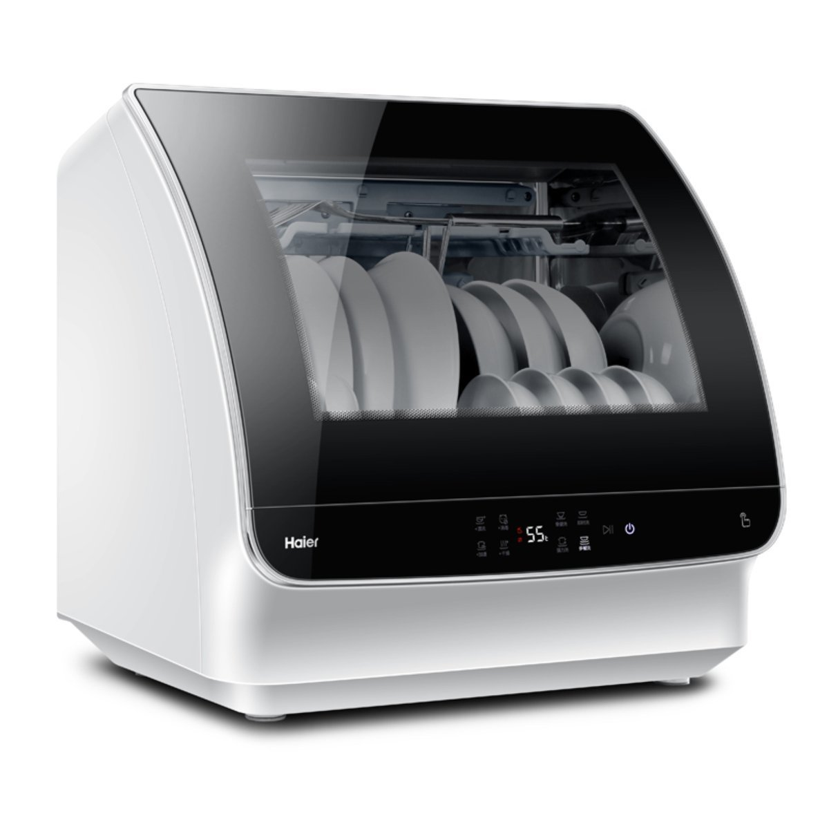 Máy rửa chén Hale bếp điện HTAW50STGB rửa bát công suất lớn nhỏ khắp nước bao phủ đến nhiệt độ cao d