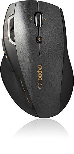 Chuột vi tính Ray Bách 7800p laser chuột không dây 2.4 GHz / trò chơi 5000dpi / 6 / đen phím