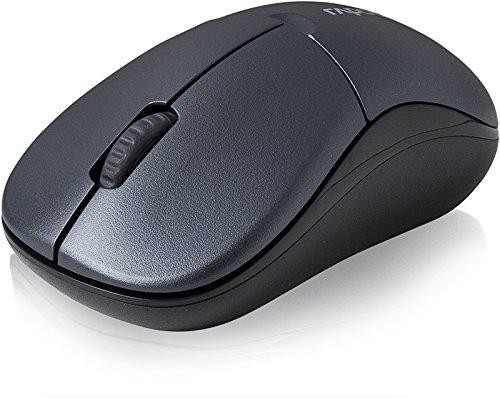 Chuột vi tính Ray bách trình độ cơ bản 3 Phím chuột không dây màu xám.