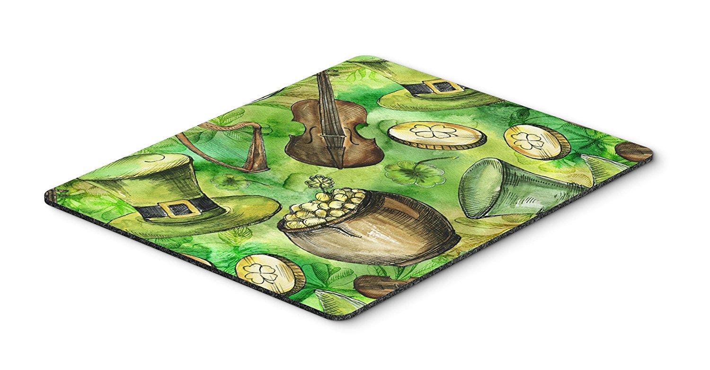 Thảm lót chuột Caroline trên bàn của phong cách nghệ thuật Mousepad, versicolor, 7.75x9.25 (bb5755m