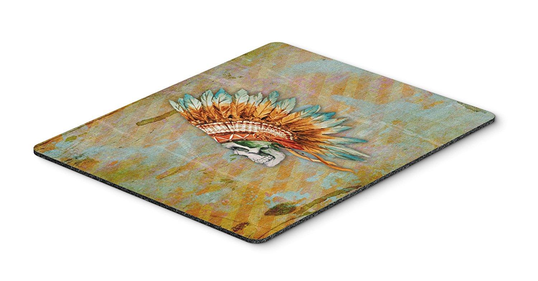 Thảm lót chuột Caroline trên bàn của phong cách nghệ thuật Mousepad, versicolor, 7.75x9.25 (bb5127m