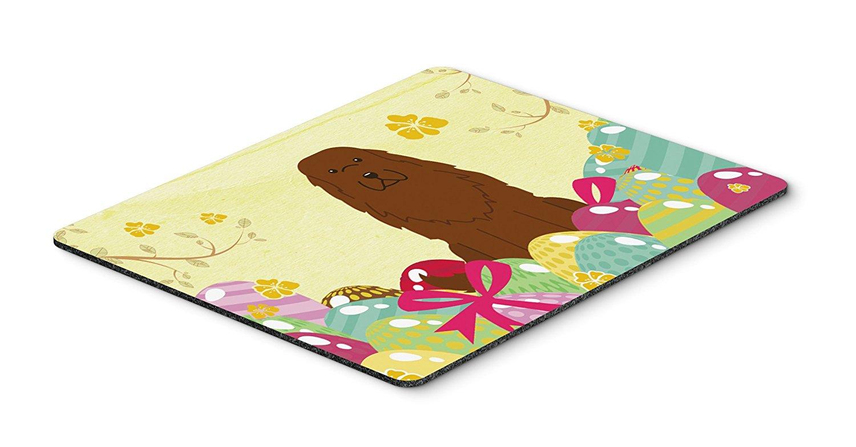 Thảm lót chuột Caroline kho báu của quả trứng Phục sinh chó chăn cừu Kavkaz Mousepad, nóng pad hay