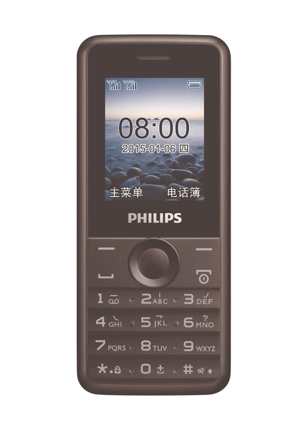 Mobile Communications PHILIPS Philips E103 long standby phone (meteorite black) dual card dual stand