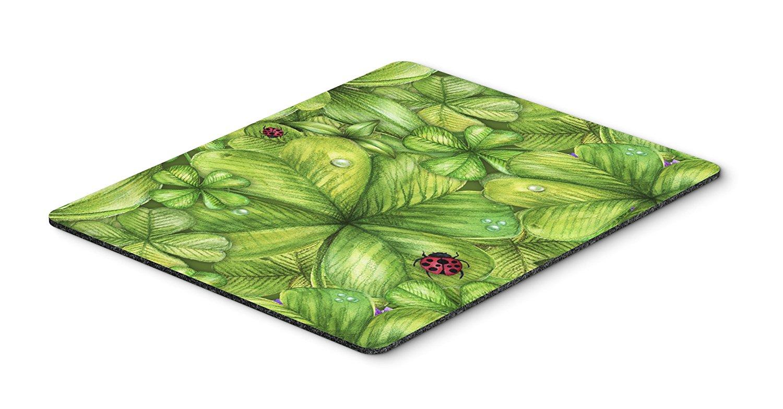 Thảm lót chuột Caroline trên bàn của phong cách nghệ thuật Mousepad, versicolor, 7.75x9.25 (bb5754m